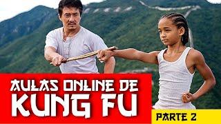 Kung Fu pra Iniciantes (parte 2) Taolu de Base completo