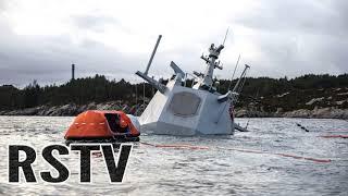 """Hacen desaparecer la Fragata Noruega para evitar que los medios conozcan las causas del """"fallo"""""""