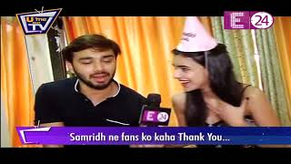 Happy Birthday Samridh bawa | U ME Aur TV के साथ Ankita ने Samridh को दिया surprise