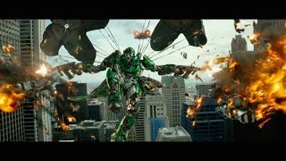 [HD] Transformers: Age Of Extinction - Crosshairs vs Vehicons