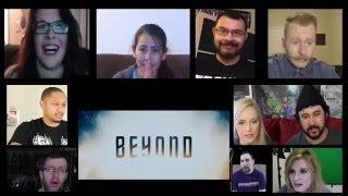 Star Trek Beyond Trailer (2016) Reactions Mashup Cynthia's Reaction