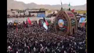 Muharram 2013, Day Of Ashura, Taft, Iran