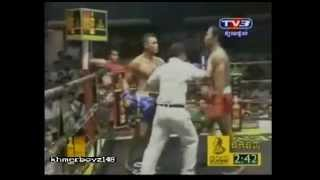 Khmer boxing - Sen Bunthen Vs Thun Sophea