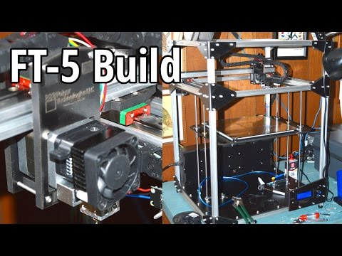 3DP #2: Folger Tech FT-5 Timelapse and Building Tips (3D printing)