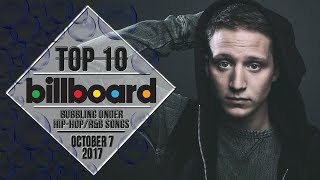 Top 10 • US Bubbling Under Hip-Hop/R&B Songs • October 7, 2017 | Billboard-Charts