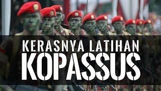 Latihan Kopassus Militer Indonesia