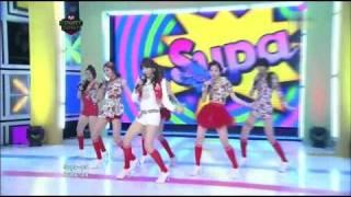 [HD] 110106 Dal★Shabet - Supa Dupa Diva Debut