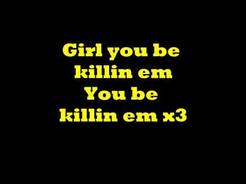 You be Killin Em Fabolous Lyrics on screen