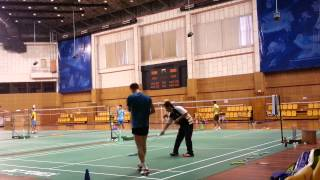 Lee Chong Wei training for All England 2013