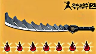 Shadow Fight 2 New Bleeding Weapon Composite Sword - Best Weapon