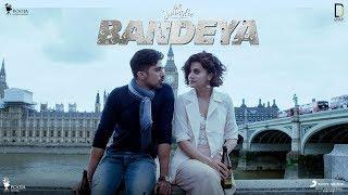 Bandeya | Dil Juunglee | Taapsee P | Saqib S | Shaarib & Toshi | Arijit Singh