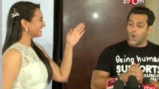 Salman Khan ignores Sonakshi Sinha at an event