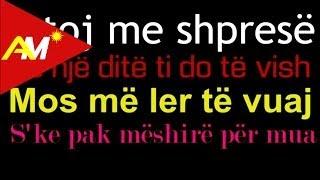 Andi Shkoza - Jetoj me shprese (Official Lyrics Video)