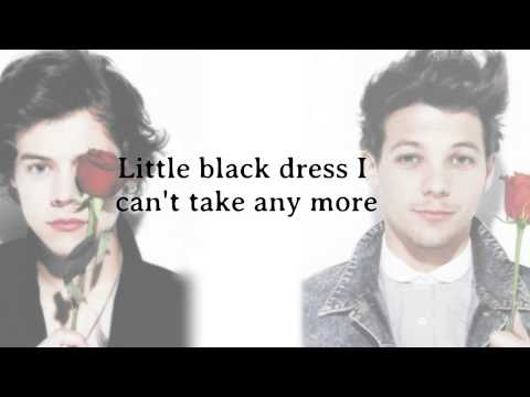 One Direction - Little Black Dress (Lyrics + Pictures) *HD*