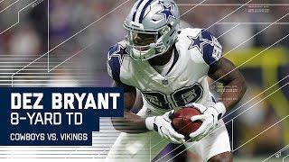Cowboys Force Thielen Fumble Then Dak Hits Dez for the 8-yard TD! | Cowboys vs. Vikings | NFL