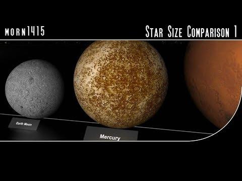 watch Star Size Comparison HD