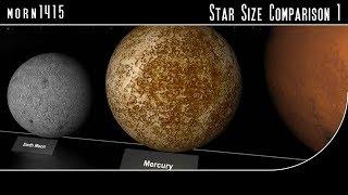Star Size Comparison HD