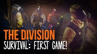 SURVIVING THE STORM! | First Survival Match in The Division