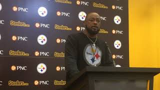 Mike Tomlin talks Steelers