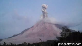 Sinabung Eruptions Compilation 2016