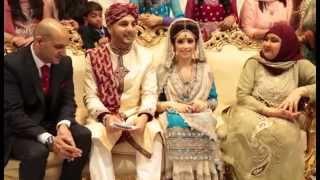 Nawaab Manchester L & S Barat Highlights - Uzmas Bridal Videography and Asian Wedding Photography.