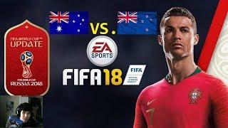 FIFA 18 - Australia vs. New Zealand