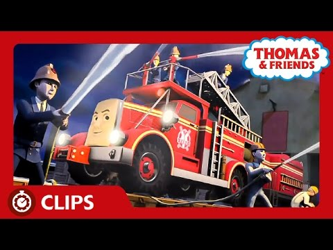 Fiery Flynn To The Rescue! | Clips | Thomas & Friends
