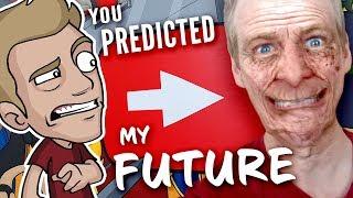 MY FUTURE Looks GRIM: Jazza of Tomorrow, Drawn by YOU!