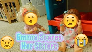 Emma Scares Her Sisters