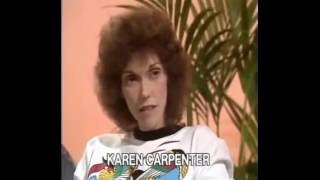The Carpenters Interview 1981-Anorexia
