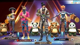 TOTAL 34 KILL IN SQUAD MATCH HEROIC GRANDMASTER GAMEPLAY - Garena Free Fire