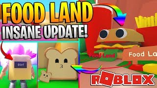 ROBLOX MINING SIMULATOR - NEW FOOD LAND UPDATE! *THIS IS INSANE*