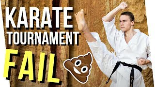 UNEXPECTED KARATE COMPETITION FAIL 💩 — Jesse Enkamp