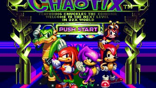 Sega 32X Longplay [001] Knuckles Chaotix