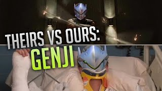 Overwatch - Theirs vs Ours: Genji