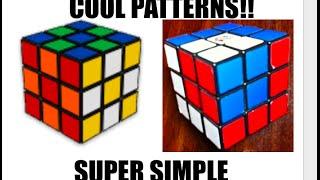 Rubik's Cube Patterns - Super Easy