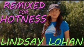 Lindsay Lohan at Age 18 in tight t-shirt: Herbie Fully Loaded - Remixed for Hotness