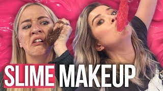 Making Slime Makeup Tutorial FAIL (Beauty Break)