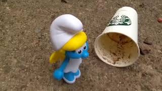Smurfette toy commercial