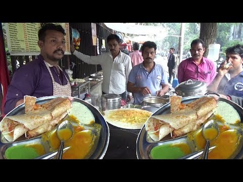 Xxx Mp4 Vegetable Masala Dosa With Free Vada Idli Only 45 Rs Per Plate Indian People Crazy For It 3gp Sex