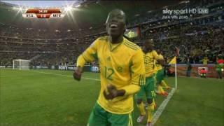 Tshabalala Goal VS Mexico In World Cup 2010 **HD**