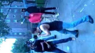 Hood fight in the L.E.S