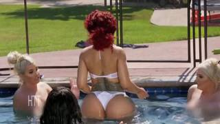 Pregnant Blac Chyna Strips & Twerks In Pool With Nakked Friends!