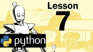 Lesson 7 - Python Programming (Automate the Boring Stuff with Python)