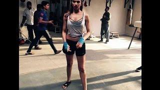 Deepika Padukone's amazing Workout in hollywood
