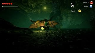 Unreal Engine 4 Pokemon Ocarina of Time - Queen Gohma Boss Battle