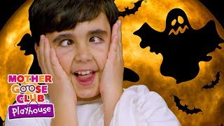 👻 Ghost Family | Mother Goose Club Playhouse Simple Songs Children | Scary Halloween Songs for Kids