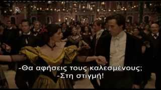 The Legend Of Zorro - Dance scene (Greek subs)