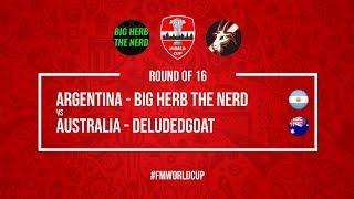 Argentina vs Australia   BigHerbTheNerd vs DeludedGoat   Football Manager 2018   #FMWorldCup