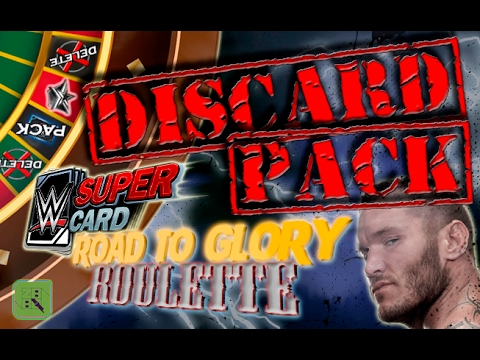 THE DISCARD PACK OPENING! ❌ - RTG ROULETTE #4 | WWE SuperCard